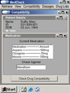 med check compatibility